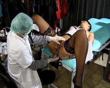 spekulum untersuchung fotze untersuchen klinik gyno