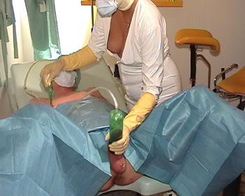 clinic injections needle needles tits nipple into the