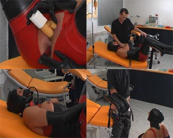 Hot pee on the gyntable a complete pee exam treatment