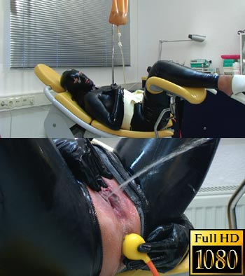 A horny full rubber enema