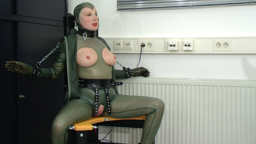 Va fuck by machine and squirt - 1 part 3