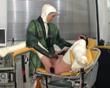 Ein Arschfick mit Katheter und Urinbeutel