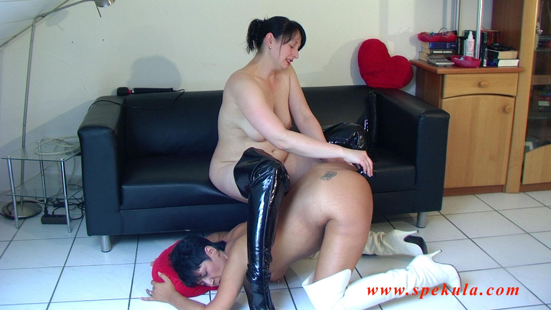 Hard anal training for busty trina 7