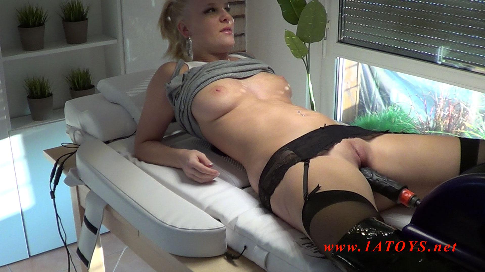 Big horny slut fucked in all holes 2